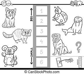 ファインド, 最も大きい, 動物, ゲーム, 色, 本
