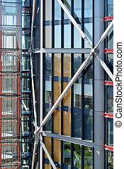 ファサド, ガラス 建物