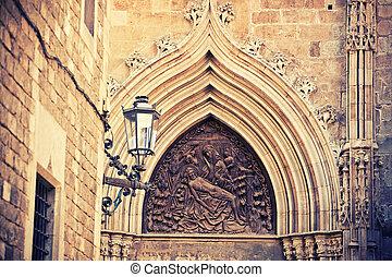 ファサド, バルセロナ, 教会