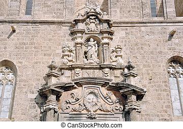 ファサド, バレンシア, 教会