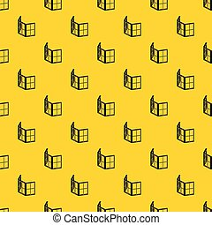 ファサド, パターン, 窓, ベクトル, フレーム