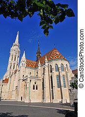 ファサド, ブダペスト, mattew, st. 。, 教会