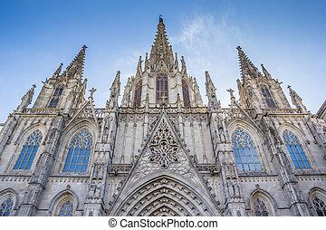 ファサド, 大聖堂, バルセロナ