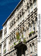 ファサド, 建物, 歴史的