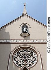 ファサド, 教会