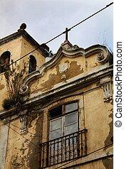 ファサド, 教会, 古い, リスボン