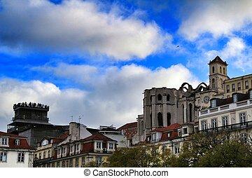 ファサド, carmo, 女子修道会, リスボン