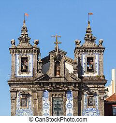 ファサド, porto, 教会