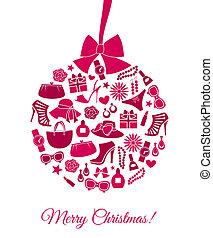 ファッション, クリスマスボール