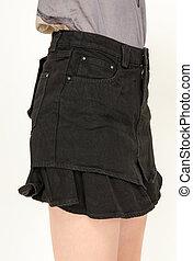 ファッション, スカート, 女性