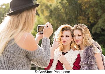 ファッション, 写真撮影, モデル
