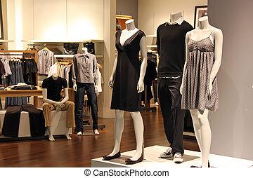 ファッション, 小売り