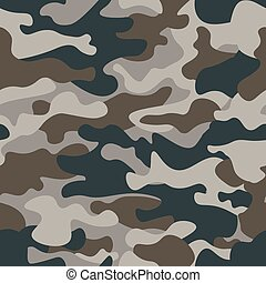 ファッション, 現代, pattern., 色, 森林, スタイル, 覆うこと, 繰り返し, ベクトル, 緑, ...
