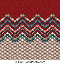 ファッション, 現代, pattern., seamless, 編まれる, バックグラウンド。, 幾何学的, knitwear.