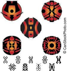 ファンタジー, pictograms, 象形文字
