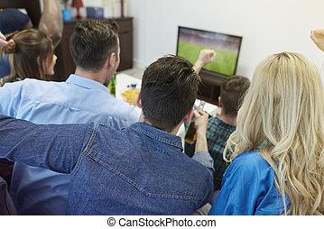 ファン, サッカーマッチ, 監視
