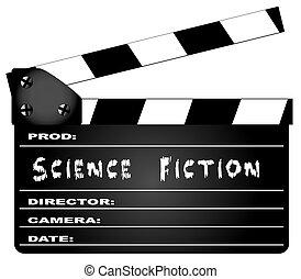フィクション, カチンコ, 映画, 科学