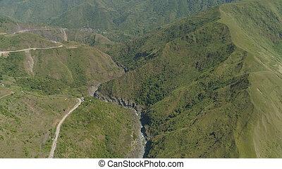 フィリピン。, 山の地域