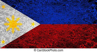フィリピン。, 旗