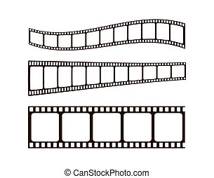 フィルム, 写真, w/clipping, 道