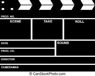 フィルム, 拍手 板