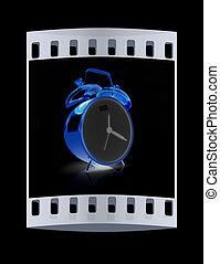 フィルム, 警報, clock., 金, ストリップ