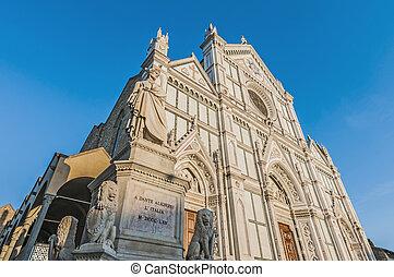 フィレンツェ, バシリカ, イタリア, 交差点, 神聖