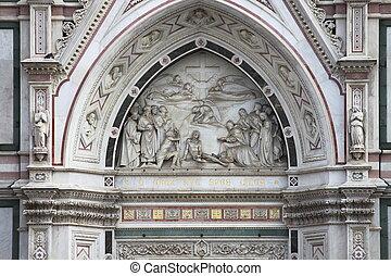 フィレンツェ, バシリカ, 入り口, 交差点, 神聖