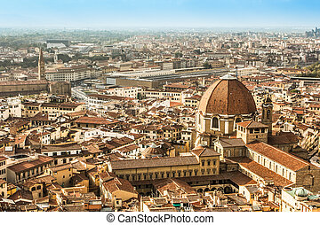 フィレンツェ, 空中写真