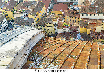 フィレンツェ, 航空写真, 都市の景観