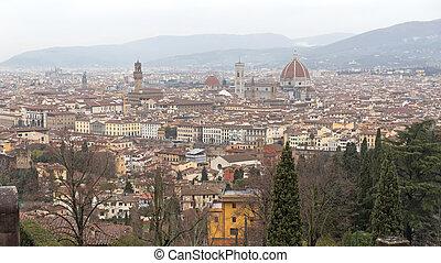 フィレンツェ, 都市の景観