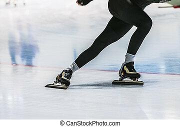 フィート, クローズアップ, スケーター