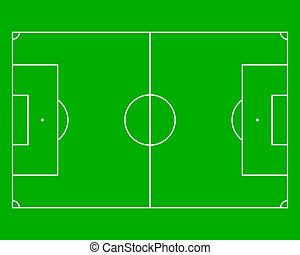 フィールド, サッカー
