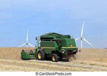 フィールド, 仕事, 収穫機