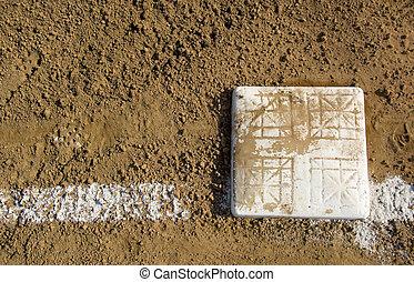 フィールド, 基盤, 野球, 空