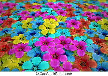 フィールド, flowers.