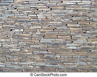 フェンス, から, ∥, 墓, 石, tiles., 大きい, picture.