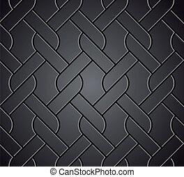 フェンス, 隔離された, に対して, ベクトル, chainlink, metal.