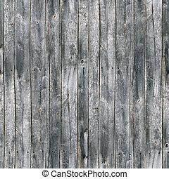 フェンス, seamless, 手ざわり, 古い, 木, 割れる