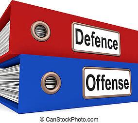 フォルダー, 保護しなさい, 防衛, 攻撃, 犯罪, 平均