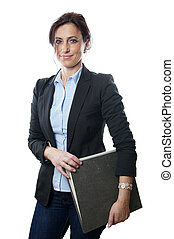 フォルダー, 女性ビジネス, 保有物