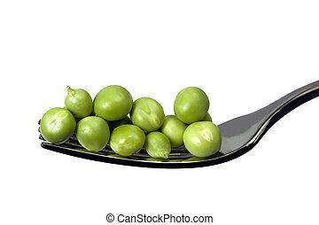 フォーク, エンドウ豆