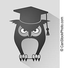 フクロウ, 教師, アイコン