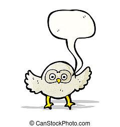 フクロウ, 漫画