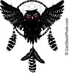 フクロウ, dreamcatcher
