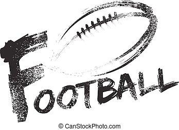 フットボール, グランジ, 筋