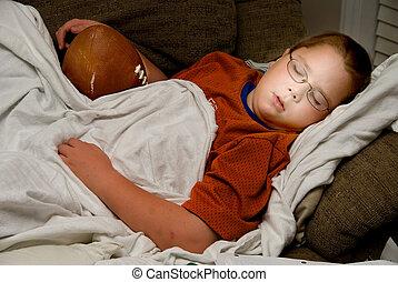 フットボール, 睡眠