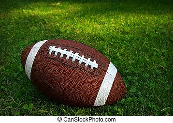 フットボール, 草
