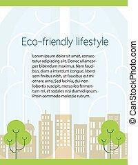 フライヤ, エコロジー, デザイン
