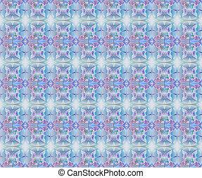 フラクタル, 幾何学的, pattern., 発生する コンピュータ, graphics., アートワーク,...